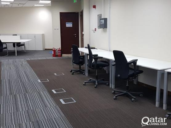 Office available for rent @ (Palm Tower) - Qatar