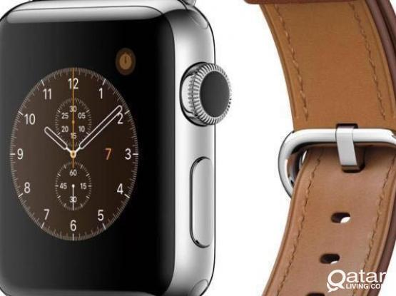 Apple Watch leather only strap
