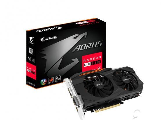 New Gigabyte AORUS Radeon RX 580 8GB Graphic Card plus 3 games