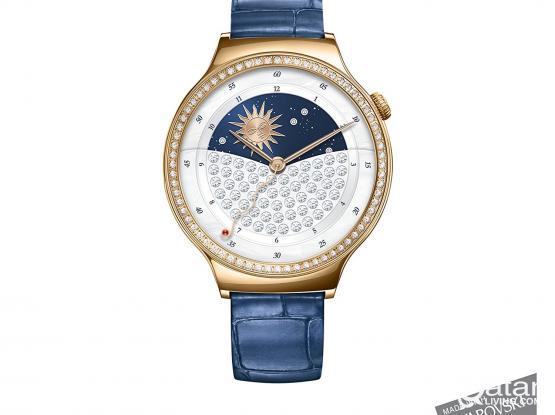 Huawei Watch (for Ladies) with Swarovski crystals - LIke New