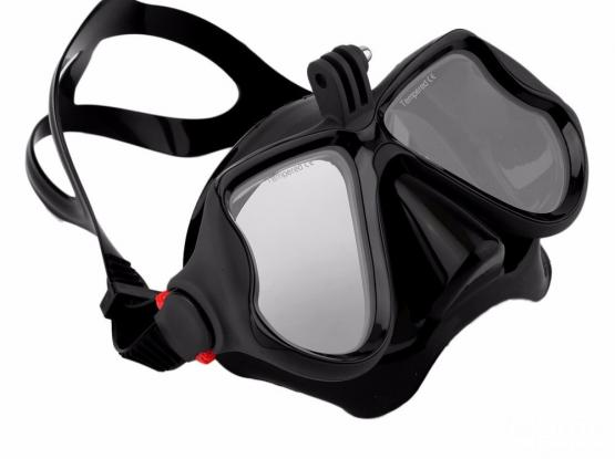 Diving mask/snorkel/freediving for Gopro mounting-