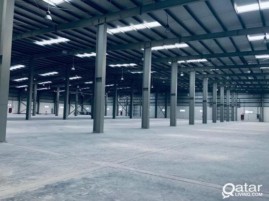 STORE (7000m).   FOR RENT IN INDUSTRIAL AREA