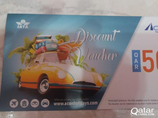 ACON TRAVELS-HOLIDAY PACKAGE-DISCOUNT VOUCHER