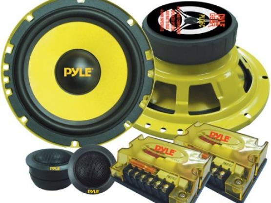 "**VERY POWERFUL** 6.5"" 400W Woofer and Speaker 2 way Component System"