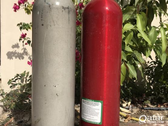 SCUBA GEAR (tanks, regulator, hose)