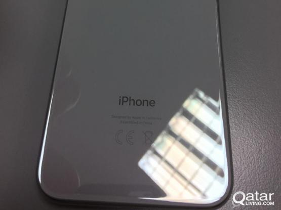 Iphone X 64gb Silver open for swap