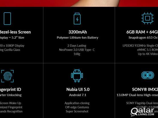 ZTE Nubia Z17 Lite 5 5 Inch 4G Smartphone NFC 6GB 64GB 13 0