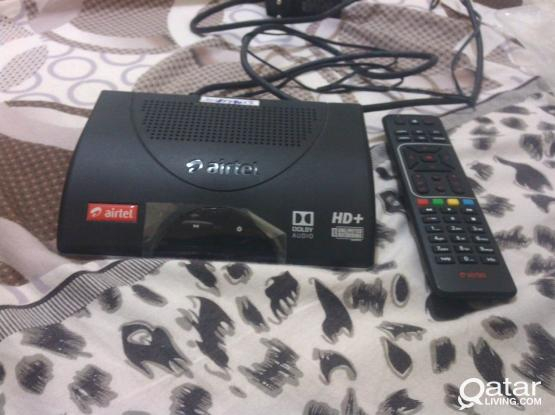 used air-tel TV HD receiver
