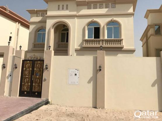 Brand new Spacious 7 bedroom Villa available in Thumama for Family, Bachelors or Ladies Staffs.