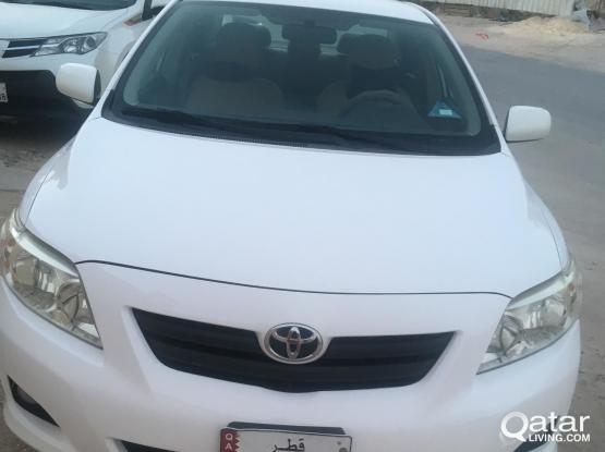 Toyota Corolla XLI 2010
