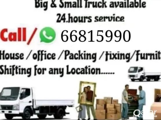 We do shifting and moving please call 66815990