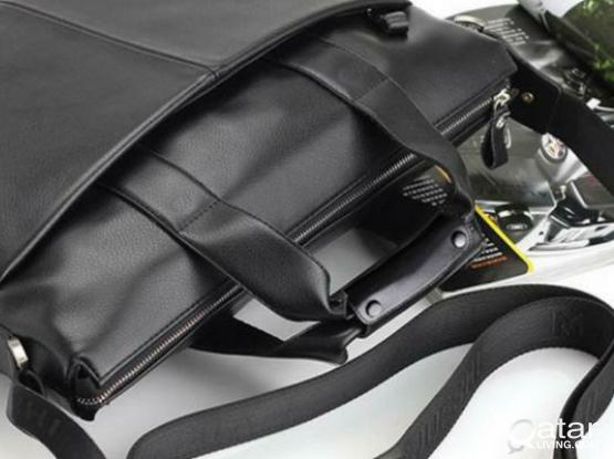 Men's Handbag PU Brief Style Large Capacity