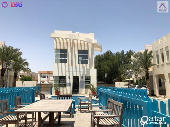 LIC1224_1 Month Free, Semi Furnished Luxury 3 BHK Villa @ Al Khor
