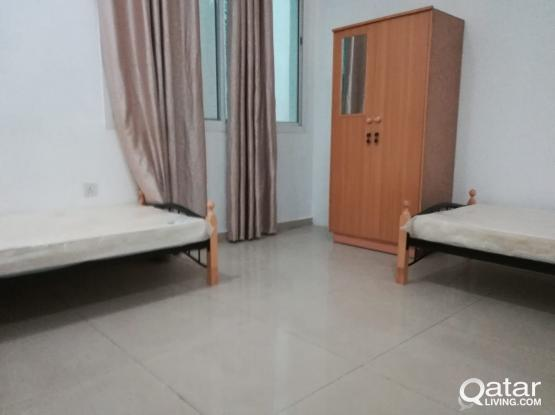 FF,  (full room rent 2200/2400) & bedspace each (1100 //850/750 )fo executive becholour  in Najma, mansoura, Muntaza