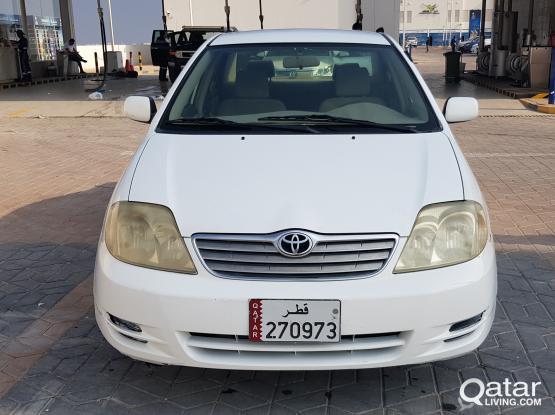 Toyota Corolla GLI 2004
