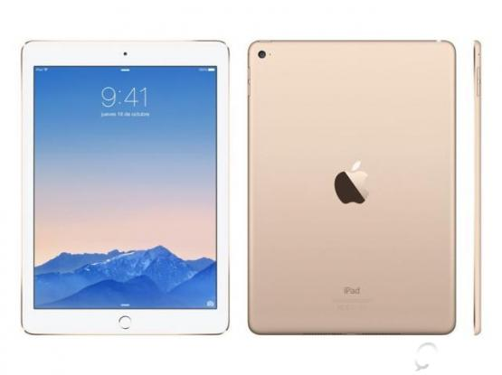 iPad Pro 12.9 WiFi 128G Gold mint with case and Apple Pencil