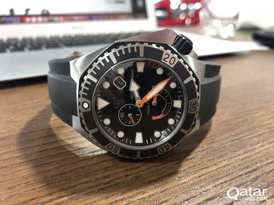 Girard Perregaux sea hawk 1000m luxury Dive watch
