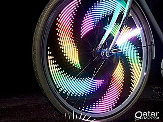 Bike Wheel Lights -32 Design patterns - Waterproof Ultra Bright Rechargable