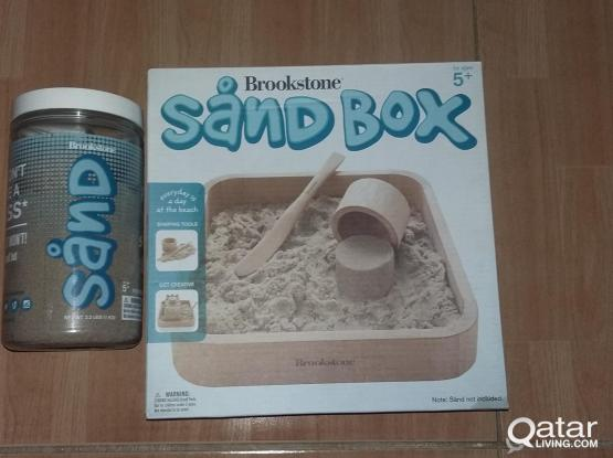Brookstone Sand box and Sand large