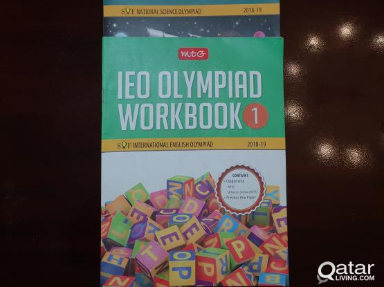 Carefully used Olympiad books (Class1)