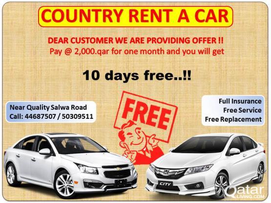 40 DAYS OFFER FOR SEDAN TYPE CAR - 44687507 / 50309511