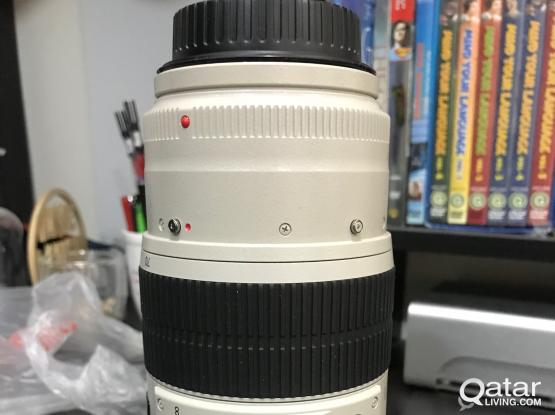 Brand new Canon professional lens 100-400 mm