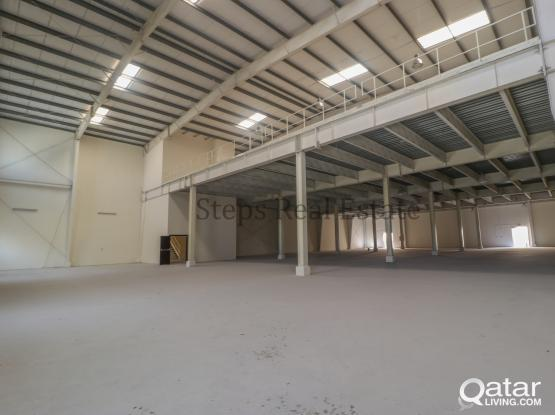 Warehouse + 48 Labour Camp Rooms For Rent at Industrial