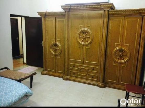 sofa ,wardrobe and dining table