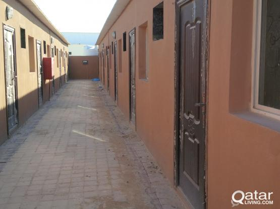 80 rooms for only  200 per room w/o electricity/water and sewage