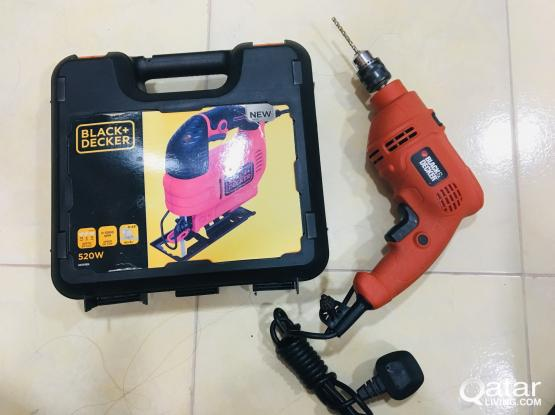 Black and Decker Jigsaw and Drill