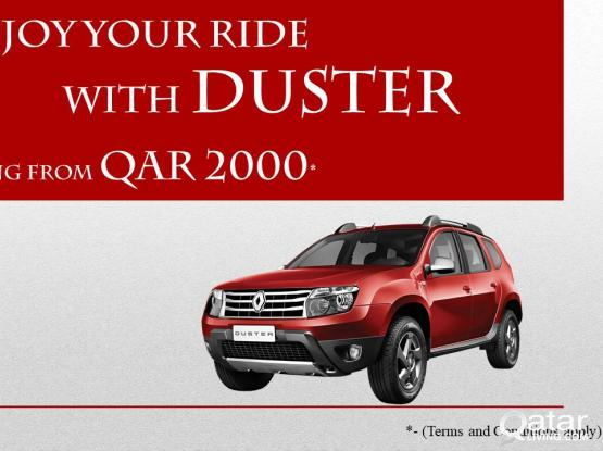 Renault Duster for Rent from QAR 2000