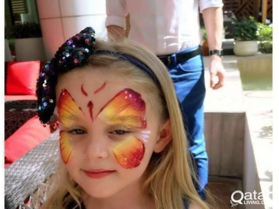 SPARK CLOUD FACE PAINTING