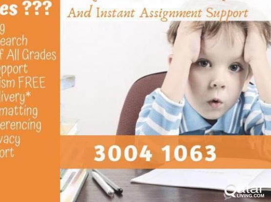 ASSIGNMENT SUPPORT SERVICES
