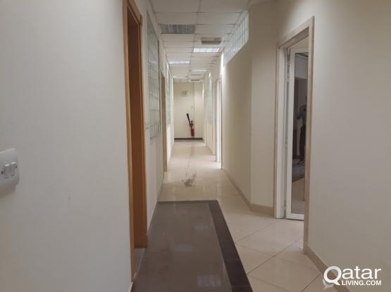 222 Sqm Excellent Partitioned Office in Bin Mahmoud