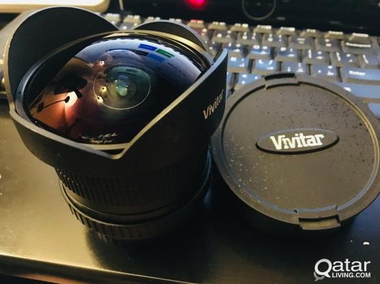 Vivitar 8mm Fish Eye Lens