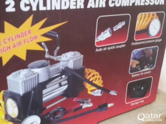 CAR AIR COMPRESSOR 2 CYLINDER