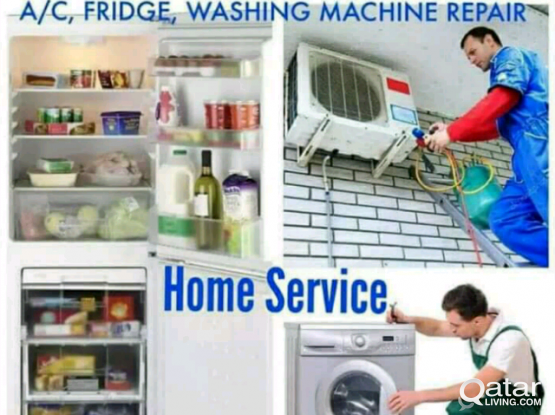 FRIDGE, AC, WASHING MACHINE  REPAIR 55696073