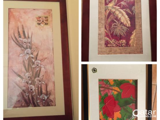 3 paintings from Home centre.