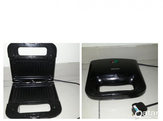 Phillips Toaster with warranty period