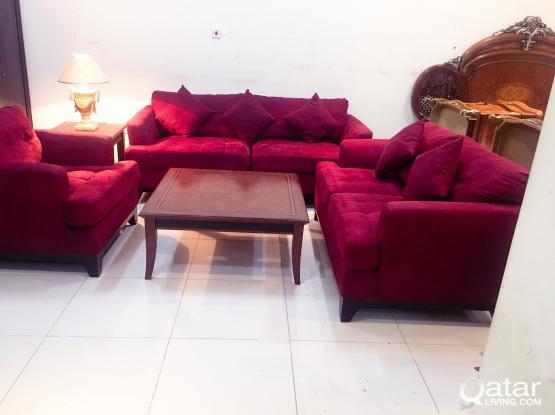 For Sell 6 Setter Sofa Set (3+2+1)