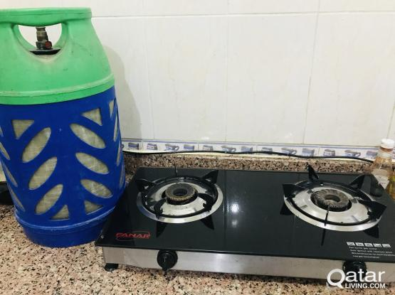 Stove and Gas cylinder regulator pipe 380 fix