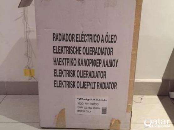 Room  Heaters 2 no's (Oil based Radiator design)