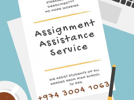 Assignment Assistance and Professional Services