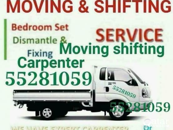 Moving Shifring carpenter service call 55281059