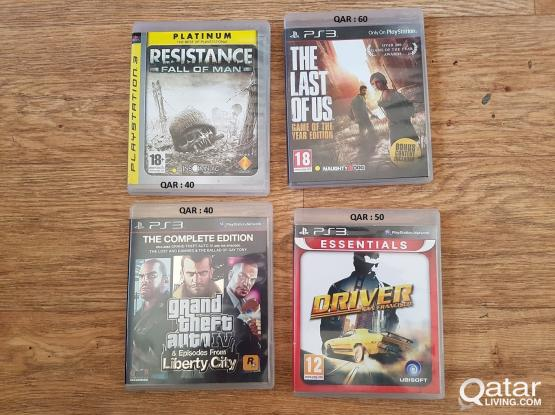 PS3 - games for sale