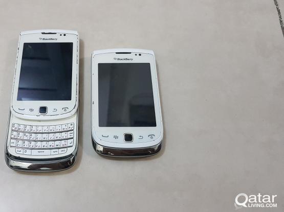 2 Blackberry torch