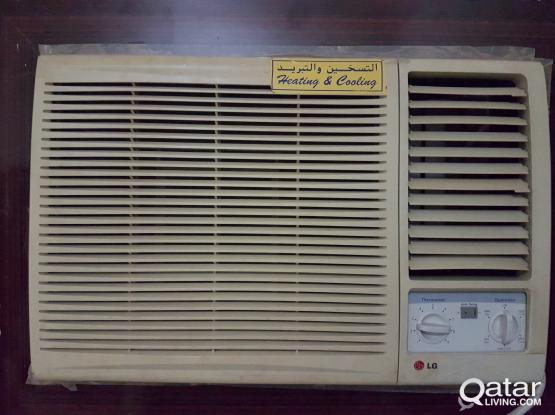 Used LG window A/C for sale