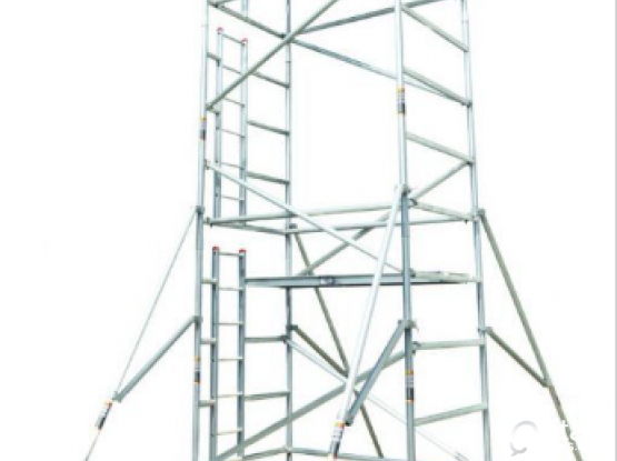Double Width Mobile Tower