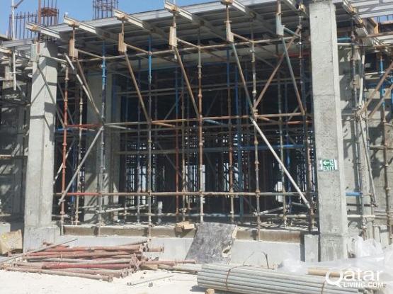 scaffolding Cuplock System slab