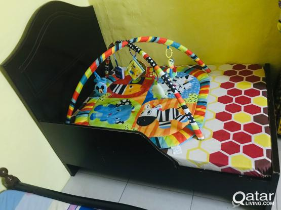 Baby Coat with bed in good condition